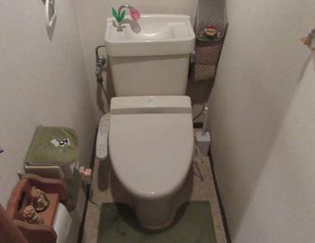 トイレ施工前01