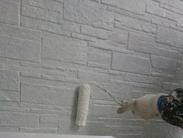 外壁➁中塗り