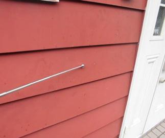 外壁:3(中度)外壁サイディング