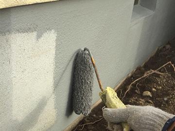 基礎浸透ガード塗装