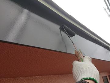 付帯物塗装上塗り