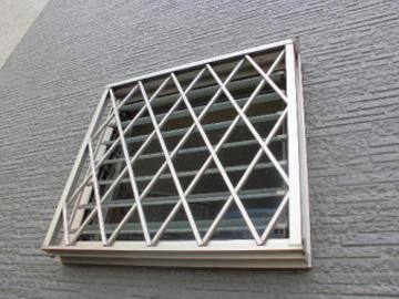 窓サッシ等:劣化度2(やや軽度)