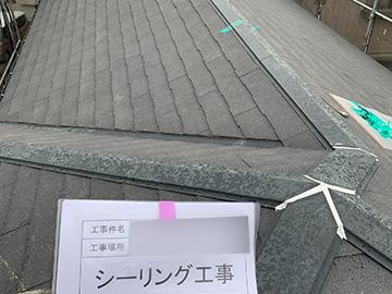 屋根:シーリング工事