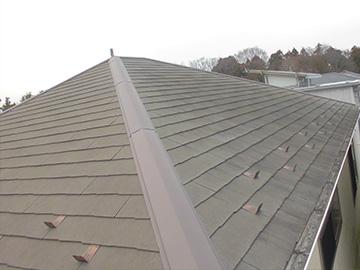 屋根:塗装前
