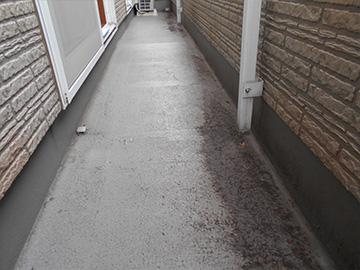 ベランダ防水:施工前