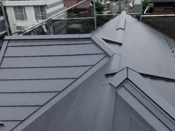 屋根カバー工法:施工後