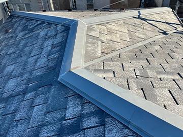 屋根カバー工法:施工前