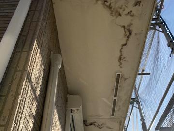 軒天井:施工前