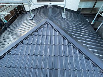 屋根:葺き替え後