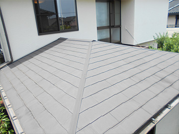 屋根:葺き替え前