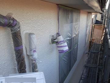 外壁:クリアー塗装