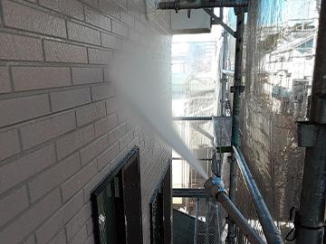 外壁:洗浄