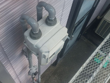 ガス管:施工後