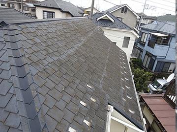屋根:カバー工法前